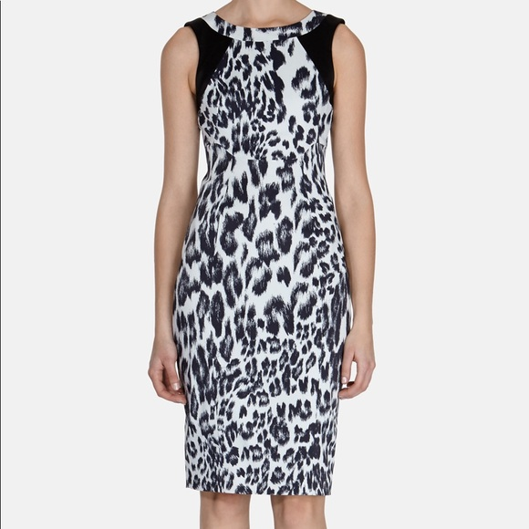 a439ffbfced7 Karen Millen Dresses | Animal Print Dress | Poshmark